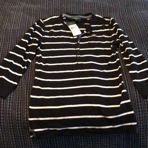 Ralph Lauren 3/4 sleeve shirt
